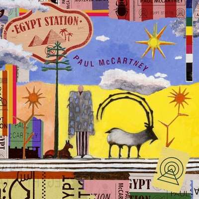 Egypt station Paul McCartney, comp., chant, guitare