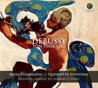 Mélodies, musique de chambre et piano | Claude Debussy (1862-1918). Compositeur