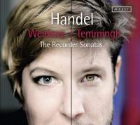 Recorder sonatas (The ) = Sonates pour flûtes à bec   Georg Friedrich Haendel, Compositeur