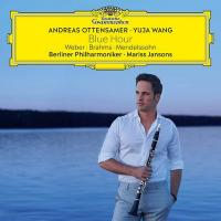 Blue hour / Weber, Brahms, Mendelssohn, compos. ; Andreas Ottensamer, clarinette, Berliner Phiharmoniker sous la dir. de Mariss Jansons |