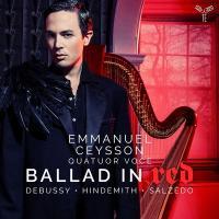Ballad in red : Debussy, Hindemith, Salzédo |