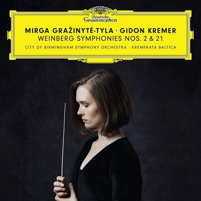 Symphony N, op. 30 Mieczyslaw Weinberg, comp. Mirga Grazinyté-Tyla, dir. Gidon Kremer, vl. Kremerata Baltica, City of Birmingham Symphony Orchestra, ens. instr.