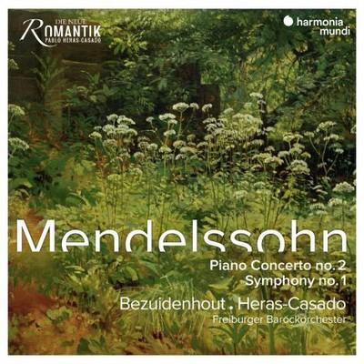 Symphony N, op. 11, ut mineur Felix Mendelssohn Bartholdy, comp. Kristian Bezuidenhout, clav. Pablo Heras-Casado, dir. Freiburger Barockorchester, ens. instr.