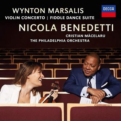 Violin concerto Wynton Marsalis, comp. & trp. Cristian Macelaru, dir. Nicola Benedetti, vl. Philadelphia Orchestra (The), ens. instr.