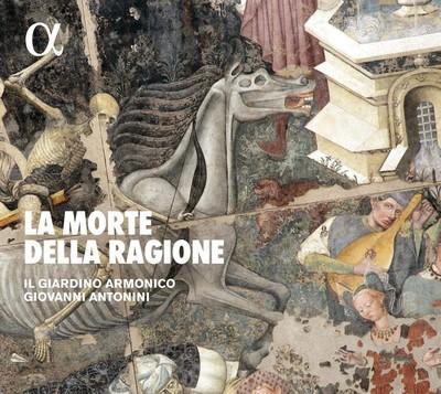La morte della raggione Giorgio Mainerio, John Dunstable, Dario Castello et al., comp. Giardino Armonico (Il), ens. instr. Giovanni Antonini, dir.