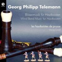 Wind band music for hautboisten / Georg Philipp Telemann   Georg Philipp Telemann