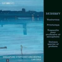 Nocturnes, Printemps, Rapsodie pour orchestre et saxophone, Danses sacrée et profane | Claude Debussy (1862-1918). Compositeur