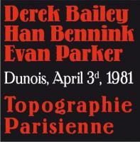 Topographie parisienne / Derek Bailey, guit. | Bailey, Derek (1932-2005). Interprète