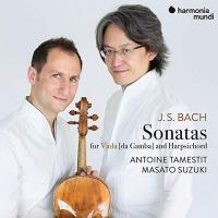 Sonatas for viola [da gamba] and harpsichord | Johann Sebastian Bach (1685-1750). Compositeur