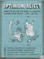 Optimism/Reject : punk and post punk meets D-I-Y aesthetic, United Kingdom, 1977-1981 / [Anthologie] | Clarke, John Cooper - Chant