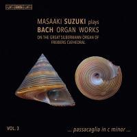 Masaaki Suzuki plays Bach organ works. vol. 3 | Johann Sebastian Bach (1685-1750). Compositeur