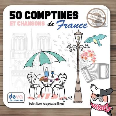 50 Comptines et chansons de France Anonyme, chant