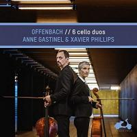 6 cello duos / Jacques Offenbach | Offenbach, Jacques (1819-1880)