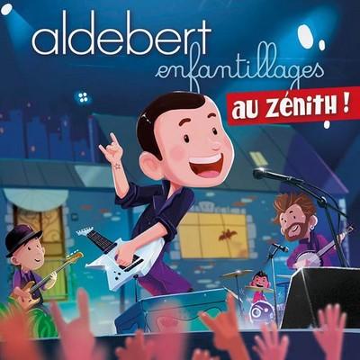 Enfantillages au Zénith ! Aldebert, comp. & chant Gauvain Sers, Elodie Frégé, Malou et al., chant Tété, guit. & chant