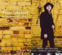 """Symphony Nʿ9 in C major """"The great""""   Franz Schubert (1797-1828). Compositeur"""