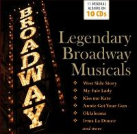 Legendary Broadway musicals / Legendary Broadway musicals | Bernstein, Leonard (1918-1990). Comp.