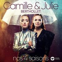 Nos 4 saisons = Nos quatre saisons / Camille Berthollet, vlc. | Berthollet, Camille (1999-....). Musicien. Violon. Violoncelle