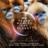 Seven worlds on planet : bande originale du documentaire | Hans Zimmer (1957-....). Compositeur