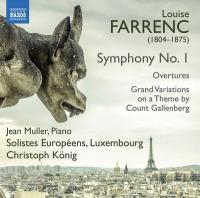 Symphonie No 1 en ut mineur, opus 32 / Louise Farrenc (1804-1875), comp. | Farrenc, Louise (1804-1875)