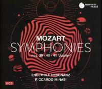 Symphonies | Wolfgang Amadeus Mozart (1756-1791). Compositeur