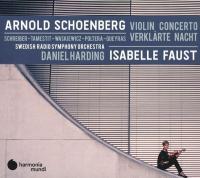 Violin concerto - Verklarte nacht / Arnold Schoenberg, comp. | Schönberg, Arnold (1874-1951). Compositeur