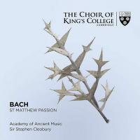 St Matthew passion, BWV.244/2 / Johann Sebastian Bach | Bach, Johann Sebastian (1685-1750)