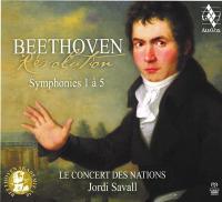 Beethoven revolution : symphonies 1 à 5 | Ludwig Van Beethoven. Compositeur