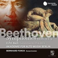 Symphonies N°1 & 2 / Ludwig van Beethoven, comp. | Beethoven, Ludwig van (1770-1827). Compositeur. Comp.