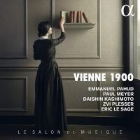 Vienne 1900 : le salon de musique   Pahud, Emmanuel (1970-....,). Musicien