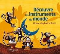 Découvre les instruments du monde : Afrique, Maghreb et Brésil / Jean-Christophe Hoarau, réal. |