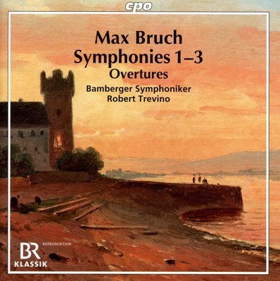 Symphonies n-3, Ouvertures - Bamberger Symphoniker, Trevino Max Bruch