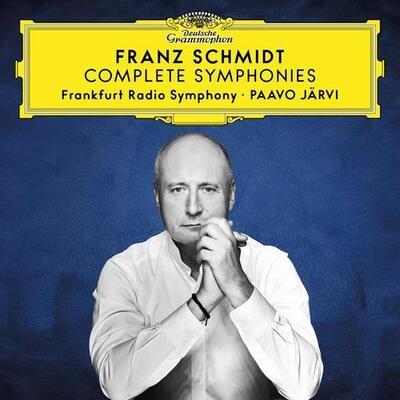 Complete symphonies Franz Schmidt, comp. Paavo Järvi, dir. Frankfurt Radio Symphony Orchestra, ens. instr.