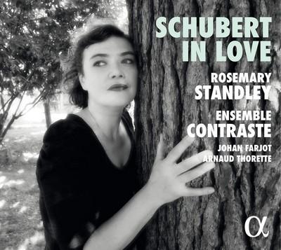 Schubert in love Franz Schubert, comp. Airelle Besson, trp. Sandrine Piau, S Rosemary Standley, chant Ensemble Contraste, ens. instr.