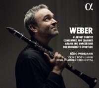 Clarinet Quintet. Concertino for Clarinet...[et al.] | Weber, Carl Maria von (1786-1826). Compositeur