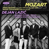 Piano quartets / Wolfgang Amadeus Mozart, Dejan Lazic, piano, Benjamin Schmid, Zeb Hu, violons, Johannes Erkes, alto, Enrico Bronzi, violoncelle |