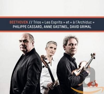 """Trios """"Les Esprits"""" et """"À l'Archiduc"""" Ludwig van Beethoven, comp. Anne Gastinel, vlc. David Grimal, vl. Philippe Cassard, p."""