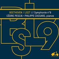 Symphonie Nʿ9 en ré mineur transcrite pour deux pianos, op. 125 |