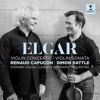 Edward Elgar / Edward Elgar, Renaud Capuçon, violon, London Symphonic orchestra sous la dir.de Simon Rattle |