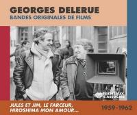 Bandes originales de films : 1959-1962 | Georges Delerue (1925-1992). Compositeur