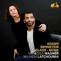 Adams, Bernstein, Glass, Monk : this is America ! / Vanessa Wagner
