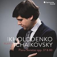 Piano sonatas op. 37 & 80 / Piotr Ilitch Tchaïkovski, comp.   Tchaïkovski, Piotr Ilitch (1840-1893). Compositeur