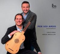 Per voi ardo : italian madrigals / Carlos Mena