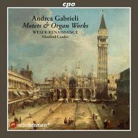Motets, psaumes & oeuvres pour orgue / Andrea Gabrieli